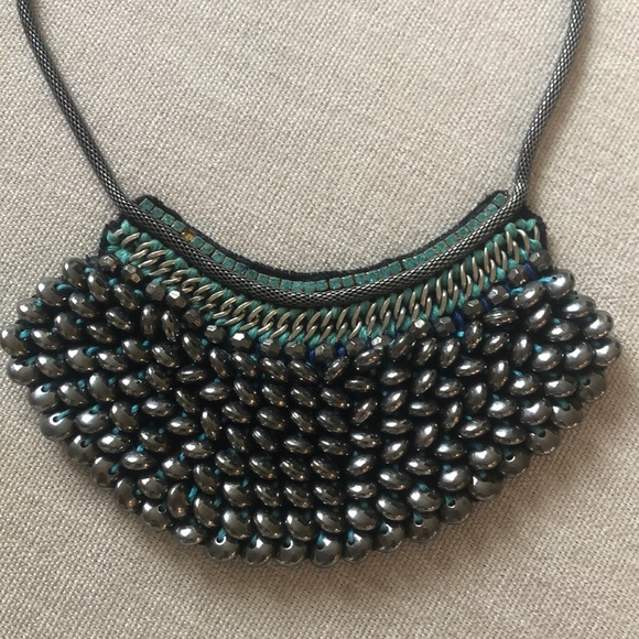Anthropologie chunky beaded necklace ✨
